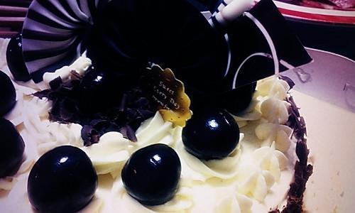 第一篇菜谱----蒸桑拿的黑森林芝士蛋糕的做法