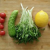 减肥去火沙拉_柠檬蔬菜沙拉的做法图解1