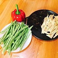 #精品菜谱挑战赛#四季豆烧腐竹+春天的味道的做法图解1