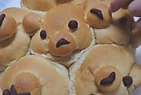 超软会拉丝的红糖牛奶小熊面包低糖Magimix玛捷斯的做法