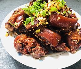 猪蹄三吃-凉拌猪蹄-四川烧腊的做法