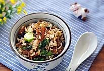 豆豉鲮鱼炒饭的做法