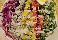 牛油果水果蔬菜沙拉的做法