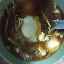 姜丝红糖鸡蛋