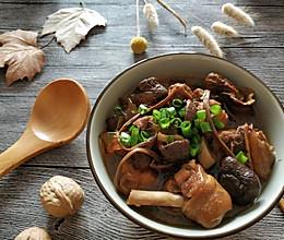 #憋在家里吃什么#姬松茸茶树菇炖鸡腿的做法