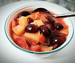 苹果山楂红枣饮的做法