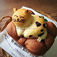 我愿化作一只喵,卧在面包上——学做懒猫吐司大赛的做法图解15