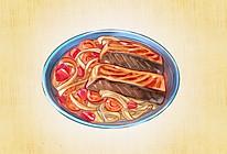 味增三文鱼蔬菜烧的做法
