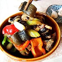 香芹豉椒溜鳝段