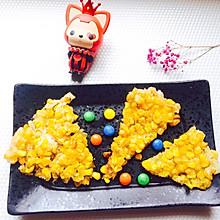 #安佳儿童创意料理#金玉满堂—黄金玉米烙