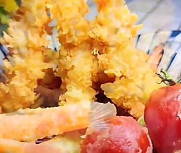 天妇罗炸虾的做法