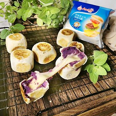 超拉丝的芝士紫薯仙豆糕