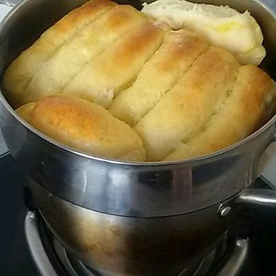 面包机揉面版牛奶拉丝面包——超好吃