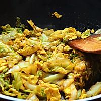 香辣过瘾卷心菜炒鸡蛋的做法图解6