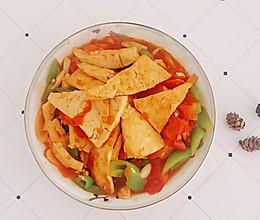 西红柿焖豆腐的做法