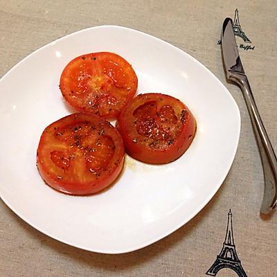 简易意式煎番茄厚片