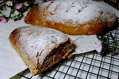 【欧式面包】蔓越人家软欧包