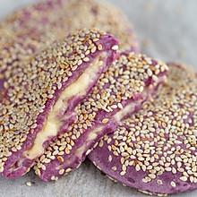 紫薯芝士饼