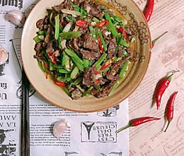 #520,美食撩动TA的心!#芹菜炒牛肉的做法