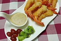 炸虾#丘比沙拉汁#的做法