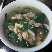 清肝明目—枸杞叶猪肝汤