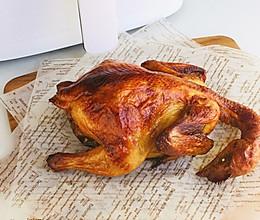 脆皮童子鸡(空气炸锅版)的做法