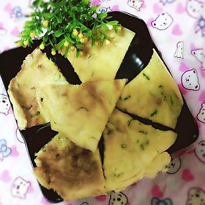 葱香全麦饼