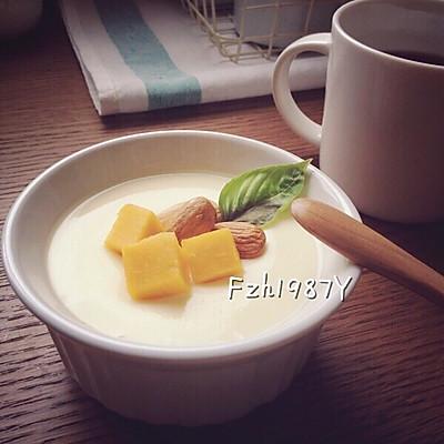 牛奶炖蛋~好滋补