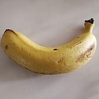 #硬核菜谱制作人#无糖无油香蕉燕麦软饼的做法图解1