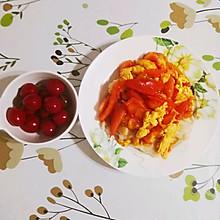 十五分钟快手早餐之西红柿鸡蛋拌抻面