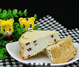 蔓越莓天使蛋糕——消耗剩余蛋清的方式的做法