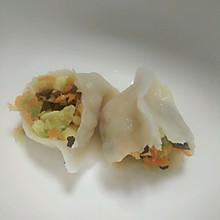 素馅饺子(西葫胡萝卜木耳鸡蛋)