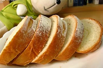 夏日减肥之低卡手工面包(类似法棍)
