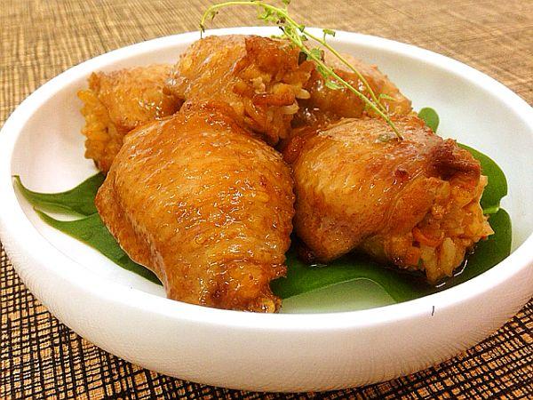 鸡翅包饭---好吃到停不下来