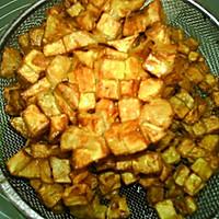 #味达美名厨福气汁,新春添口福# 红薯饼的做法图解10