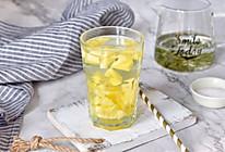 菠萝绿茶的做法
