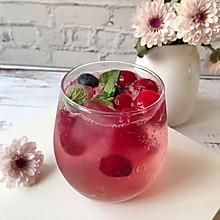 #轻饮蔓生活#蔓越莓气泡水