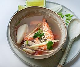 海岛风味冬阴功汤---泰式菜系的做法