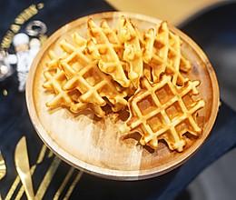 甜点|热量炸弹的奶油格子华夫饼,消耗淡奶油的利器的做法
