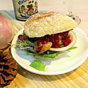 #东菱魔力果趣面包机之泰式鸡肉汉堡