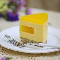 百香果南瓜慕斯生日蛋糕(百香果果冻夹层)的做法图解22