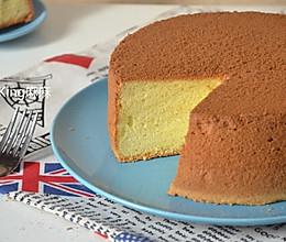 八寸原味戚风蛋糕的做法