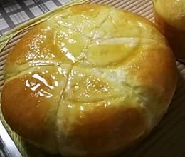 蒸大面包的做法
