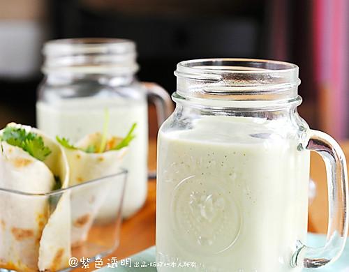豆果独家:牛油果奶昔