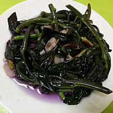 素炒血皮菜