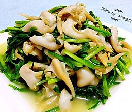 韭菜炒鸟贝#宴客拿手菜#的做法