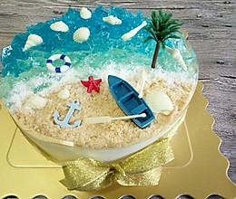海洋酸奶慕斯蛋糕——乐众缤纷夏日烘焙大赛获奖作品的做法