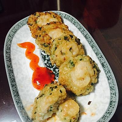 泰式传统虾饼