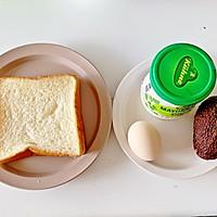 牛油果鸡蛋热压三明治#带着零食去旅行!#的做法图解1