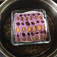 减肥减脂餐紫薯发糕#一汽呵成的做法图解12